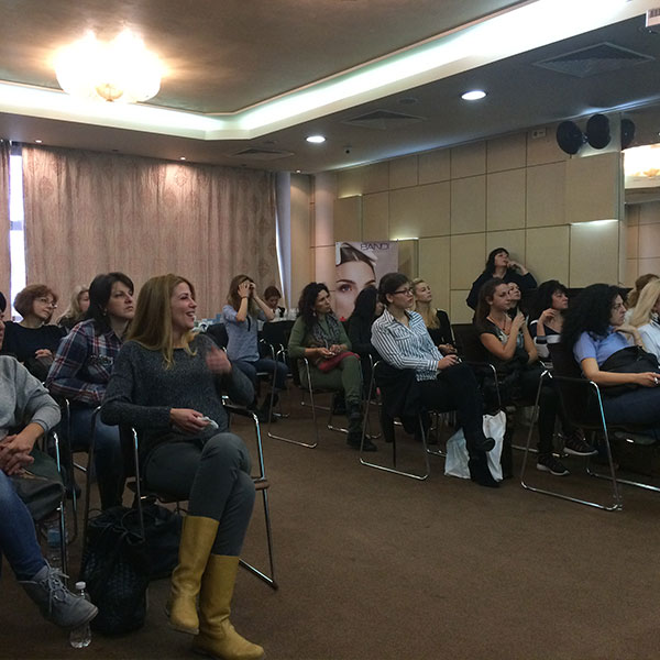 WISHPRO COSMETICS WORKSHOP - NOVEMBER 2016 SOFIA, BULGARIA